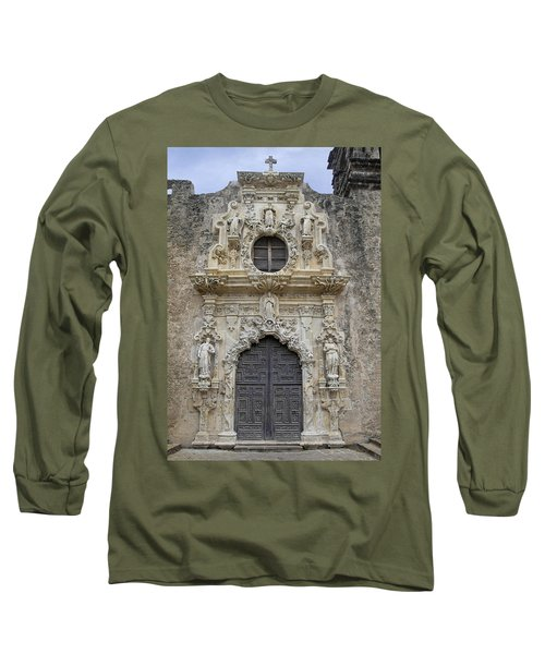 Mission San Jose Doorway Long Sleeve T-Shirt