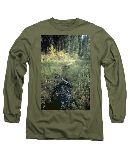 Mississippi River Headwaters Long Sleeve T-Shirt by Garry McMichael