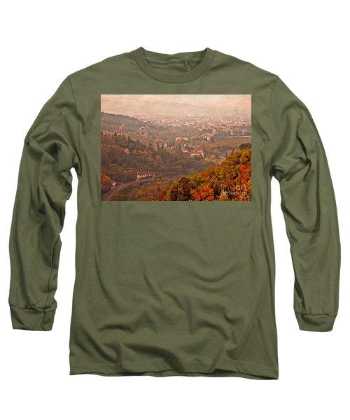 Misty Morn O'er Florence Long Sleeve T-Shirt