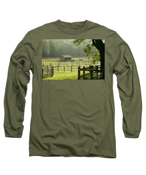 Misty Morning Maze Long Sleeve T-Shirt