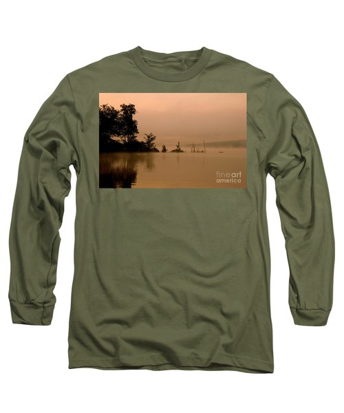 Misty Morning Solitude  Long Sleeve T-Shirt