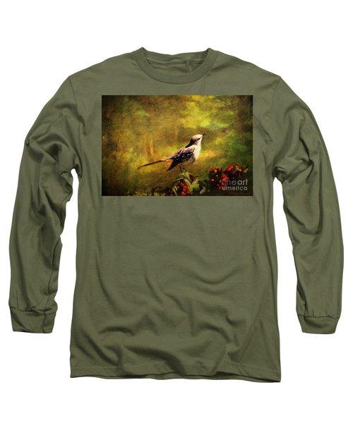 Mockingbird Have You Heard... Long Sleeve T-Shirt by Lianne Schneider