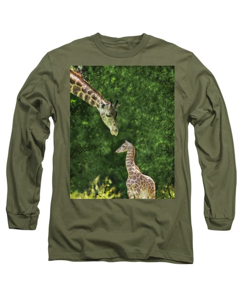 Long Sleeve T-Shirt featuring the photograph Momma Loves Me by Marianne Campolongo