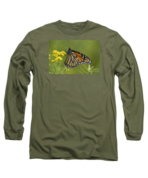 Long Sleeve T-Shirt featuring the photograph Monarch 2014 by Randy Bodkins