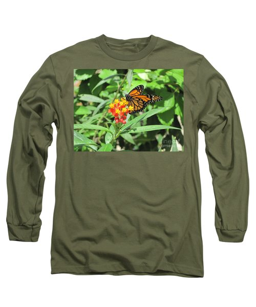 Monarch At Rest Long Sleeve T-Shirt