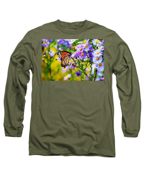 Monarch Butterfly 4 Long Sleeve T-Shirt
