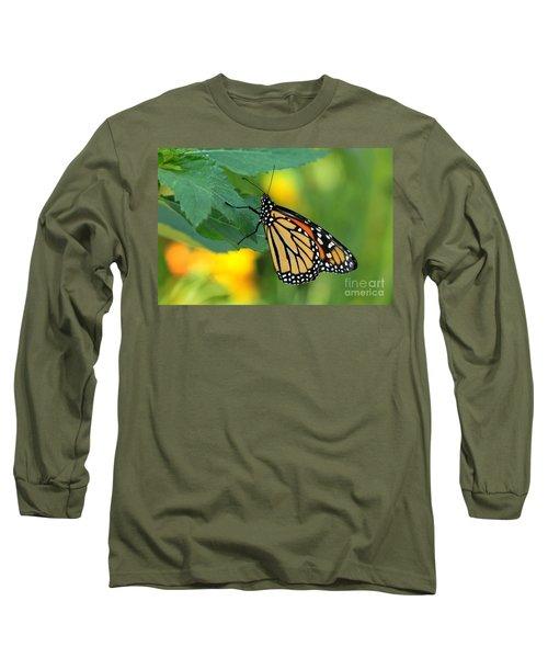 Monarch Butterfly Long Sleeve T-Shirt