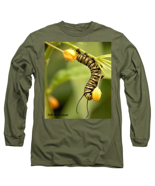 Monarch Caterpillar Long Sleeve T-Shirt