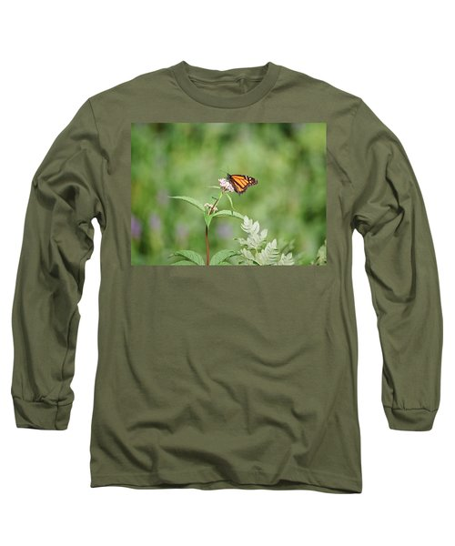 Monarch Long Sleeve T-Shirt by David Porteus