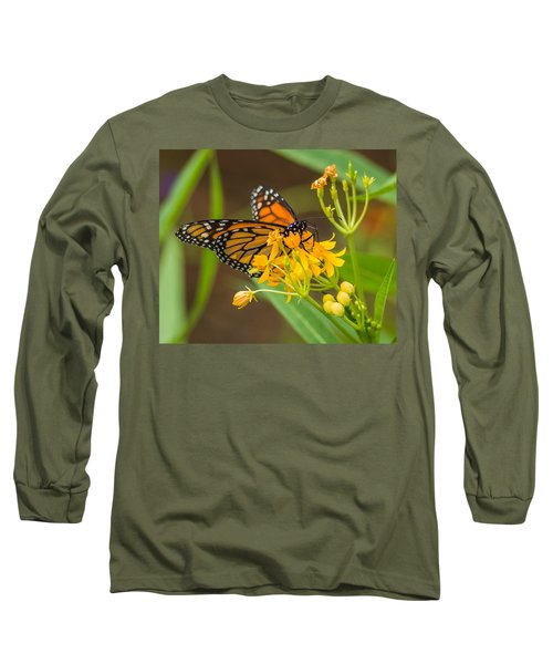 Long Sleeve T-Shirt featuring the photograph Monarch by Jane Luxton