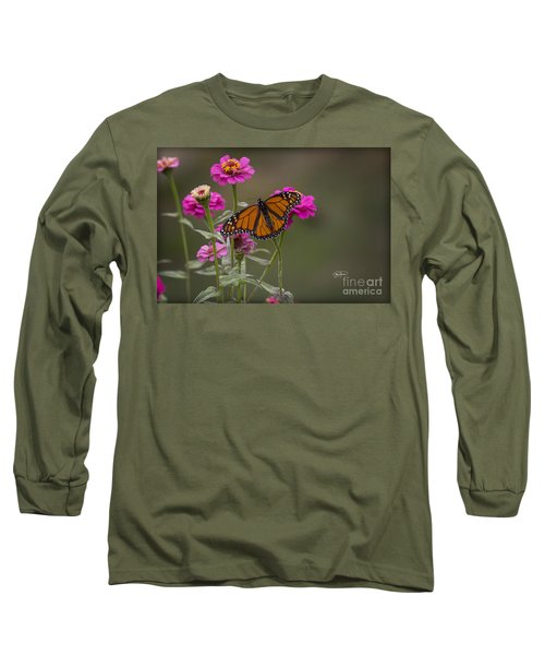 Monarch Pit Stop Long Sleeve T-Shirt