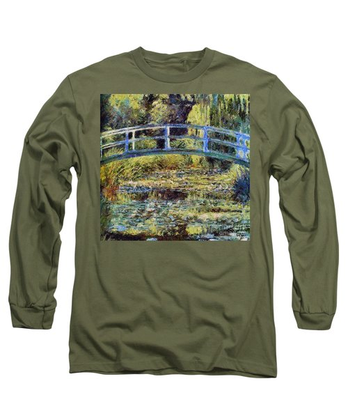Monet's Bridge Long Sleeve T-Shirt