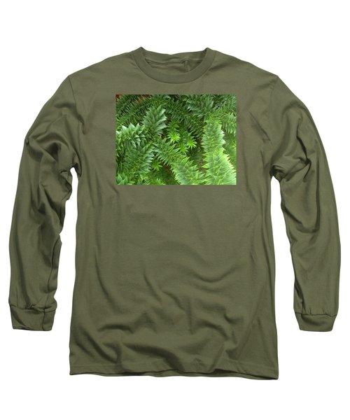 Monkey Puzzle Long Sleeve T-Shirt