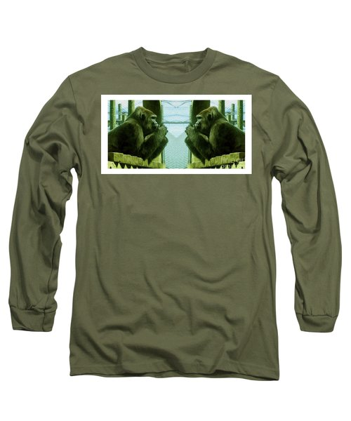 Monkey See Monkey Do Long Sleeve T-Shirt