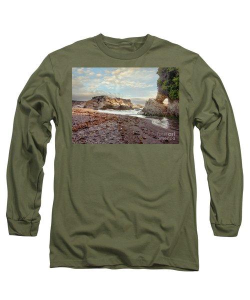 Montana De Oro Sunset Long Sleeve T-Shirt