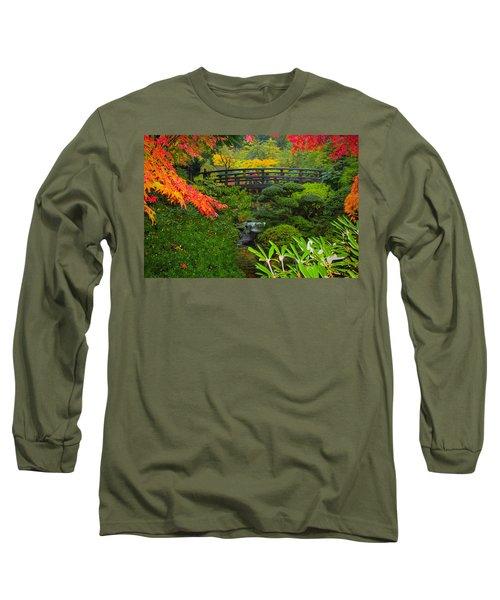 Moon Bridge To Enchantment Long Sleeve T-Shirt