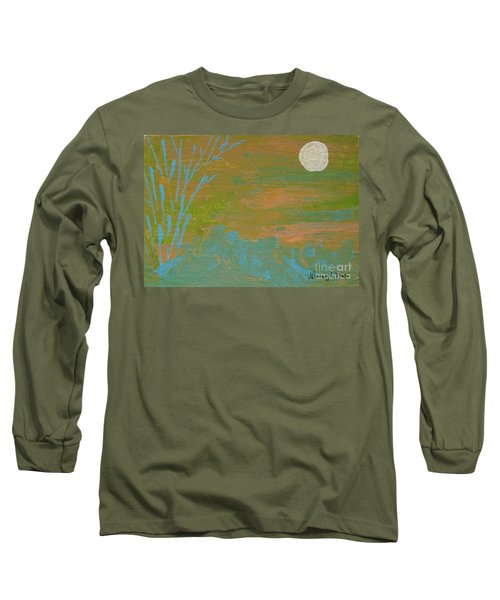 Moonlight In The Wild Long Sleeve T-Shirt
