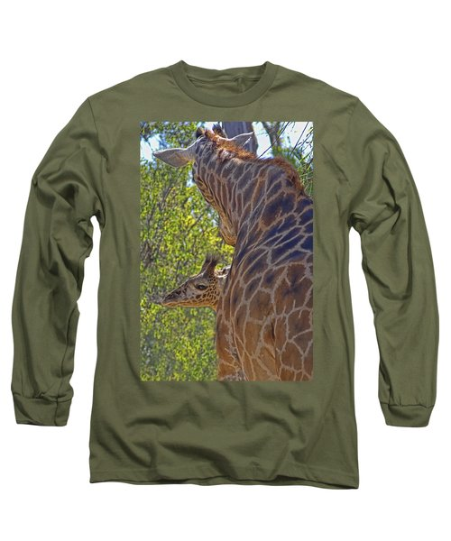 Long Sleeve T-Shirt featuring the photograph Mooom Im Bored by Gary Holmes