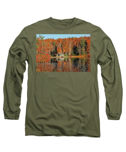 Moore State Park Autumn I Long Sleeve T-Shirt