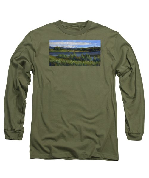 Morey Wildlife Park Long Sleeve T-Shirt by Billie Colson