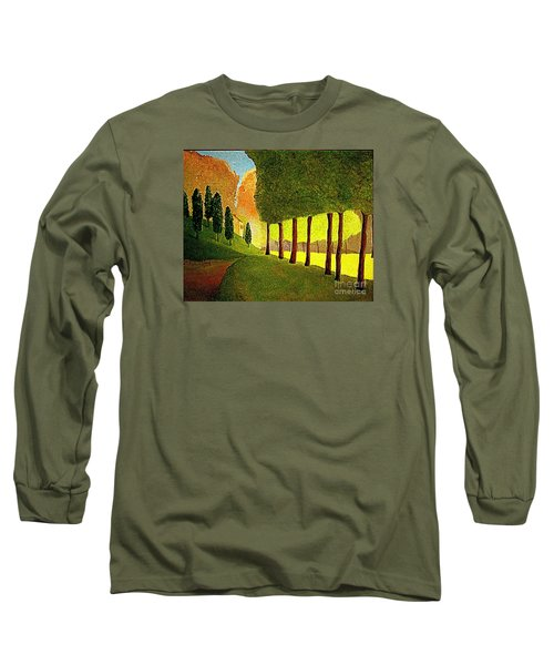 Chambord Morning By Bill O'connor Long Sleeve T-Shirt by Bill OConnor