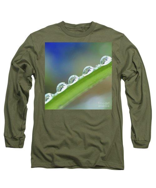 Morning Dew Drops Long Sleeve T-Shirt