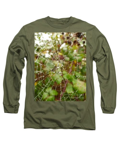 Morning Dew Long Sleeve T-Shirt by Vicki Spindler