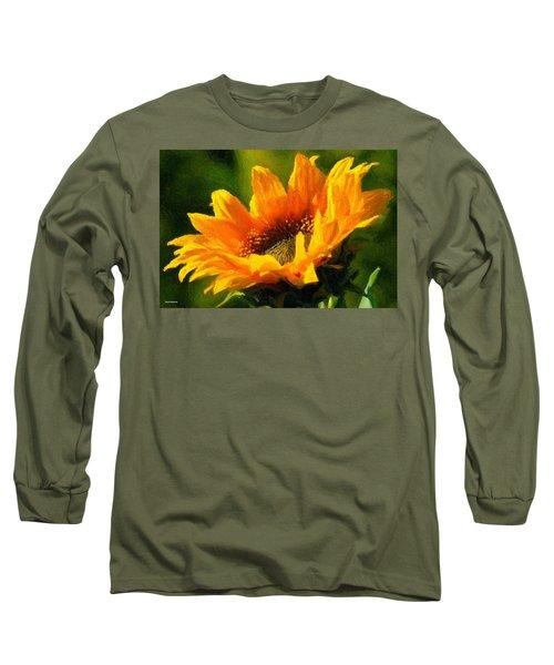 Long Sleeve T-Shirt featuring the digital art Morning Light by Chuck Mountain