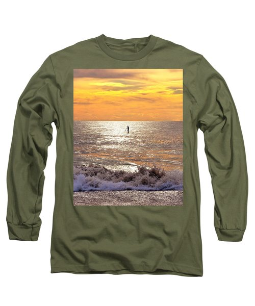 Long Sleeve T-Shirt featuring the photograph Sunrise Solitude by Kim Bemis