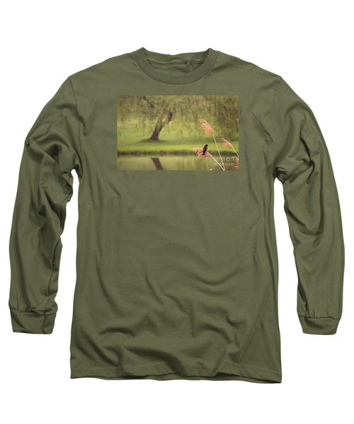 Long Sleeve T-Shirt featuring the photograph Morning Mood by Rima Biswas