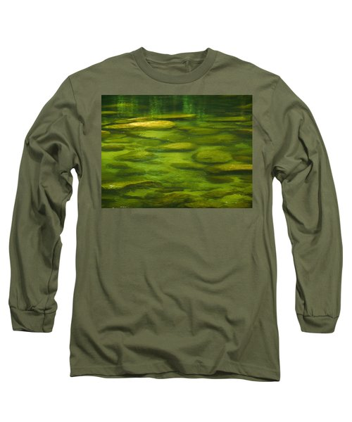 Long Sleeve T-Shirt featuring the photograph Mossman by Evelyn Tambour