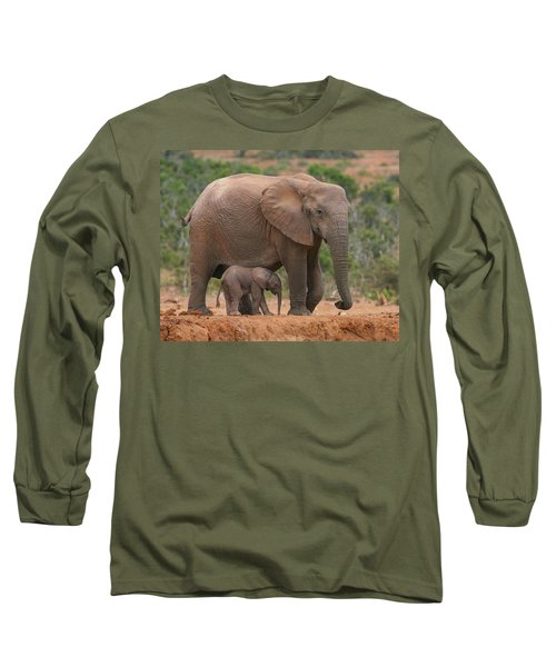 Mother And Calf Long Sleeve T-Shirt