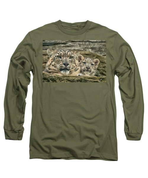 Mother And Cub Long Sleeve T-Shirt
