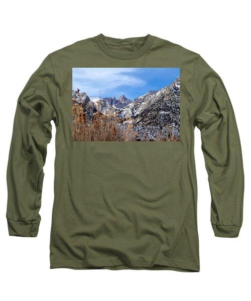 Mount Whitney - California Long Sleeve T-Shirt