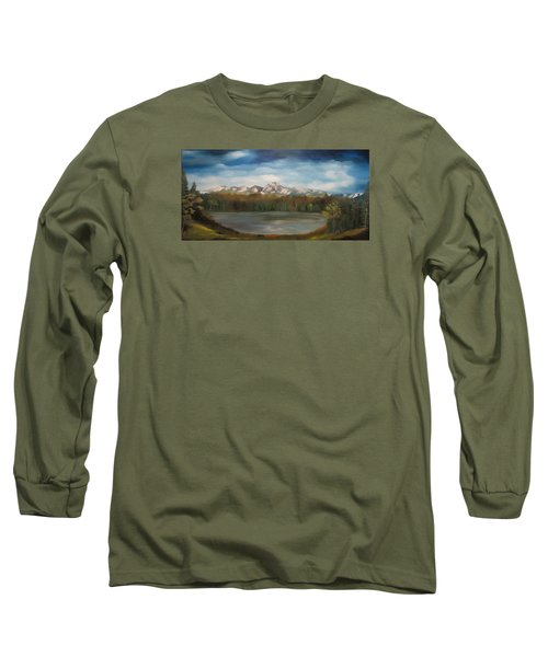Mountain Lake Long Sleeve T-Shirt