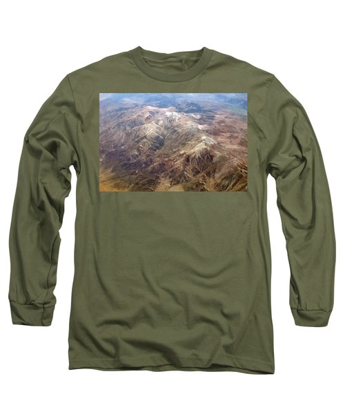 Long Sleeve T-Shirt featuring the photograph Mountain View by Mark Greenberg