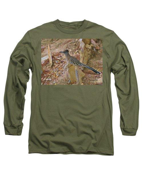 Mr. Beep Beep Long Sleeve T-Shirt by Angela J Wright