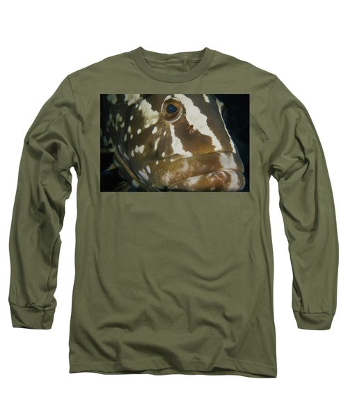 Mr. Grouper Long Sleeve T-Shirt
