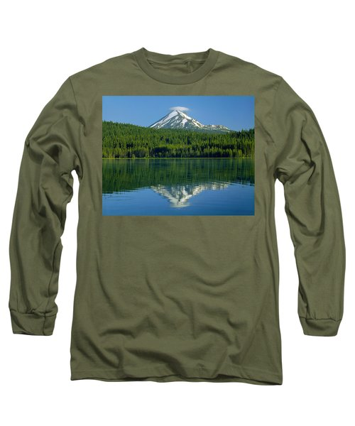 1m5705-h-mt. Mcloughlin From Lake Of The Woods Long Sleeve T-Shirt