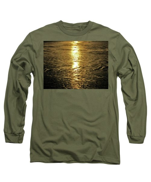 Long Sleeve T-Shirt featuring the photograph Muddy Reflection by Jeremy Rhoades