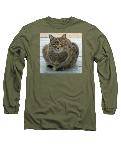 Muffin The Feral Cat Long Sleeve T-Shirt