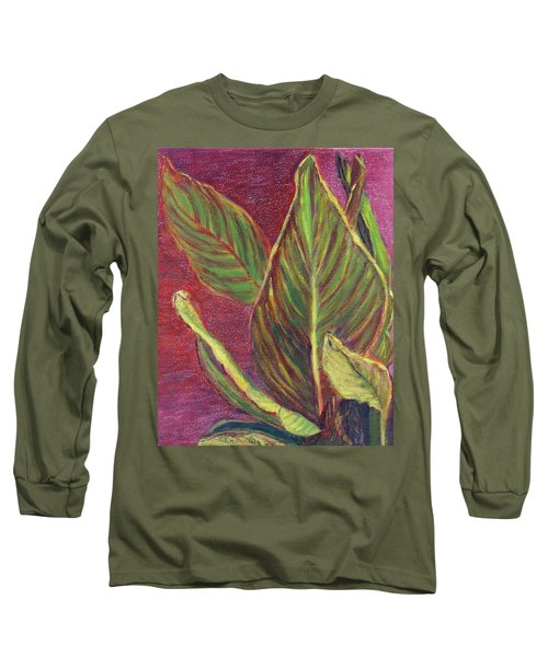 Multicolor Leaves Long Sleeve T-Shirt