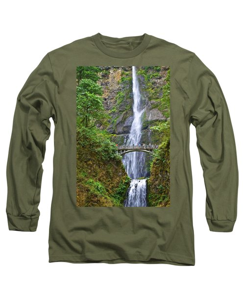 Multnomah Falls 4 Long Sleeve T-Shirt