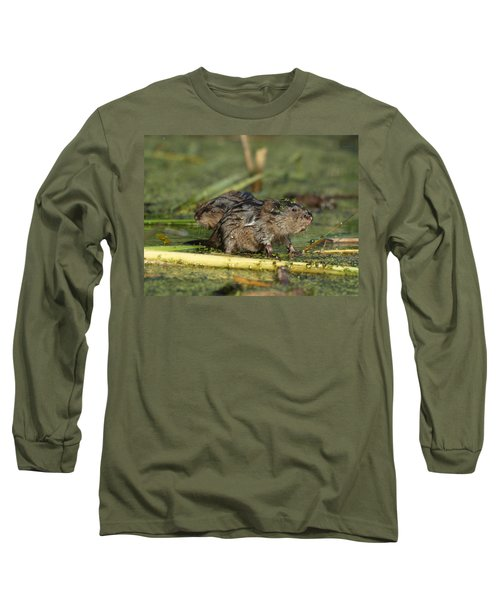 Long Sleeve T-Shirt featuring the photograph Munchkins by James Peterson