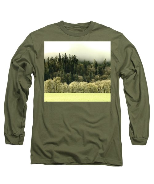 Long Sleeve T-Shirt featuring the photograph Muted Hillside Colors by Katie Wing Vigil