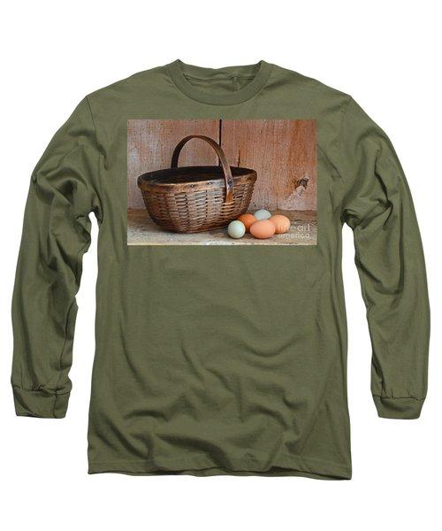 My Grandma's Egg Basket Long Sleeve T-Shirt