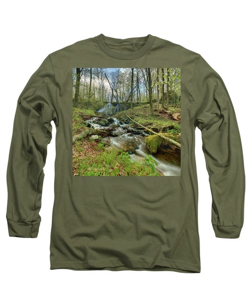Naked Creek Falls Long Sleeve T-Shirt