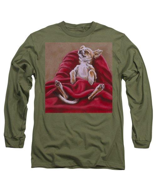 Nap Hard Long Sleeve T-Shirt by Barbara Keith