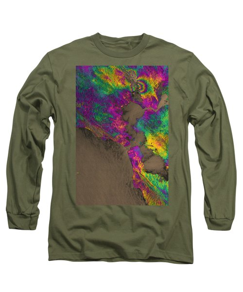 Long Sleeve T-Shirt featuring the photograph Napa Valley Earthquake, 2014 by Science Source