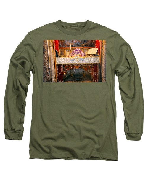 Nativity Grotto Long Sleeve T-Shirt